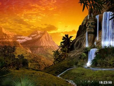Evening at Maya Valley 1.0 screenshot