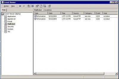 Event Log Manager 1.1.2.1 screenshot