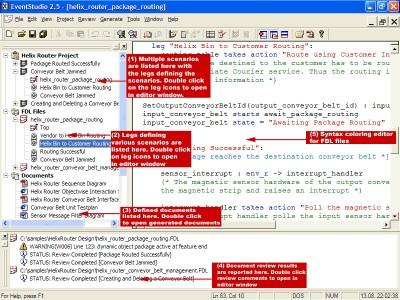 EventStudio Sequence Diagram Designer 2.5 screenshot