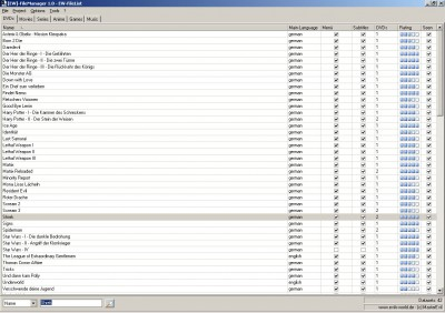EW-FileManager 1.2 screenshot