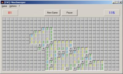 EW-MineSweeper 1.0 screenshot