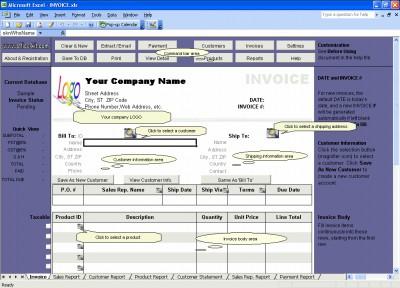 Excel Invoice Manager Platinum 2.221025 screenshot