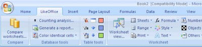 Excel Utility 7.3 screenshot