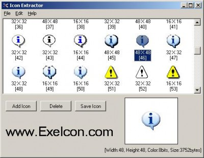 ExeIcon.com Icon Extractor 4.1733 screenshot