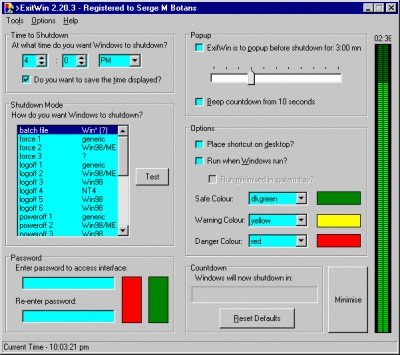 ExitWin 2004.07.03 screenshot
