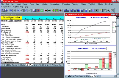 Exl-Plan Pro 2.61 screenshot