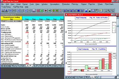 Exl-Plan Ultra 2.61 screenshot