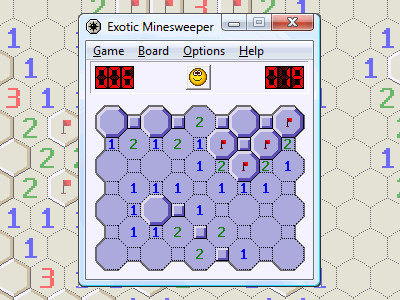 Exotic Minesweeper 1.01 screenshot