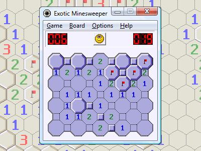 Exotic Minesweeper 1.02 screenshot