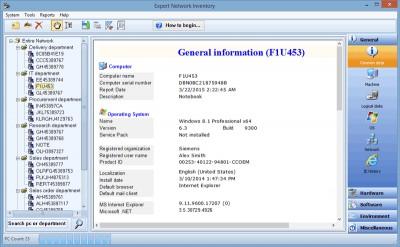 Expert Network Inventory 9.0 screenshot