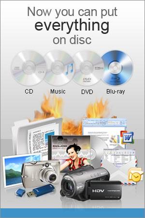 Express Burn DVD Burning Software 6.02 screenshot