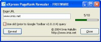 eXpress PageRank Revealer 1.0.3 screenshot