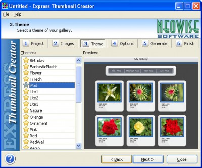 Express Thumbnail Creator 1.81 screenshot