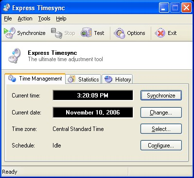 Express Timesync 3.7.1479 screenshot
