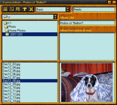 ExpressAlbum 2.1 screenshot