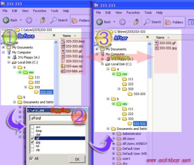 Extension Copy 5.1234 screenshot