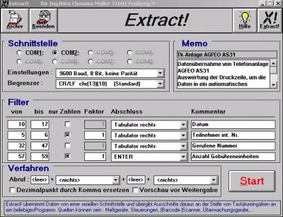 Extract! classic 1.2 screenshot