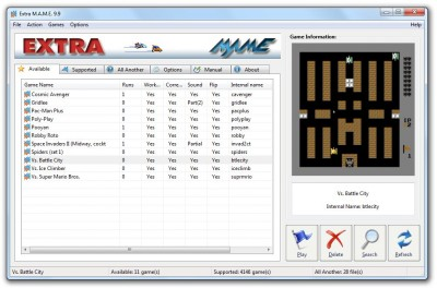ExtraMAME 19.5 screenshot