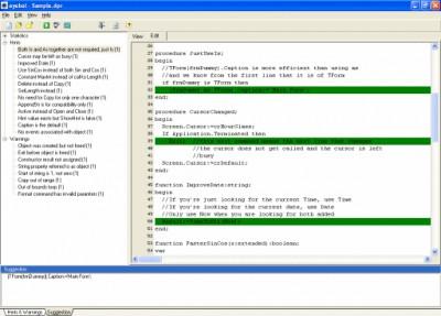 eyebol pascal analyzer 2.10 screenshot