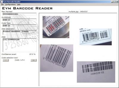 Eym Barcode Reader OCX 2.4 screenshot