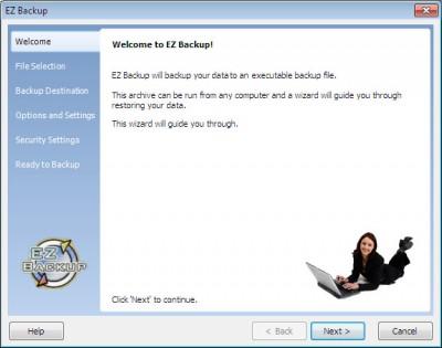 EZ Backup Firefox and Thunderbird Pro 6.42 screenshot