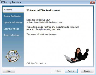 EZ Backup QuickBooks Premium 6.42 screenshot
