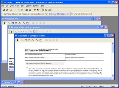 EZ-Forms-Contractor 5.50.ec.22 screenshot