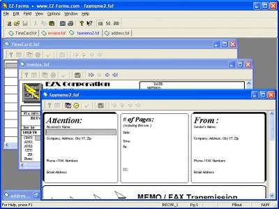 EZ-Forms Express Filler 5.50.ec.22 screenshot