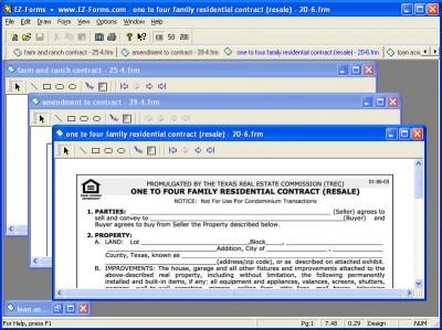 EZ-Forms-TXRE 5.50.ec.22 screenshot
