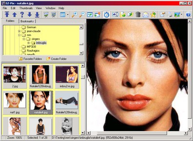 EZ-Pix 8.0 screenshot