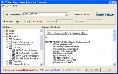 EZStoredProc 2.0.0 screenshot