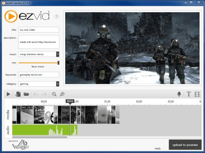 Ezvid 0.8.7.4 screenshot