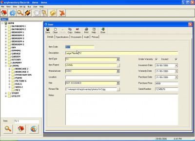 ezyInventory home 1.0 screenshot