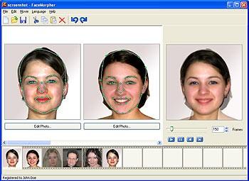 FaceMorpher Multi 2.0 screenshot