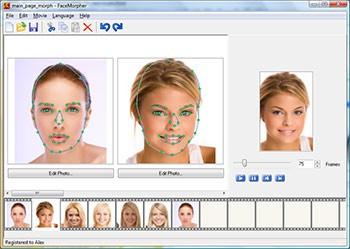 FaceMorpher 2.51 screenshot