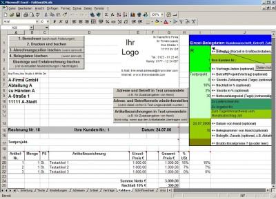 FakturaDS.xls 4.1 screenshot