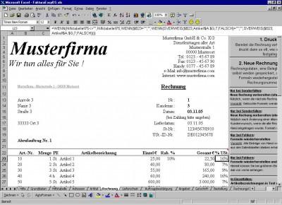 FakturaEasyDS.xls 3.0.2 screenshot