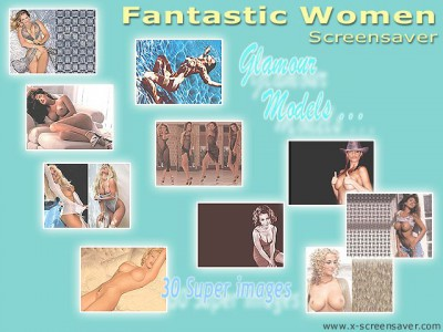 Fantastic Women Screensaver 1.2 screenshot
