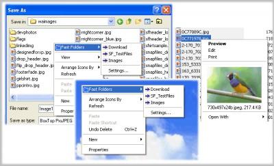 Fast Folder Access 2.0 screenshot