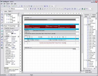 FastReport for Business 4.9 screenshot