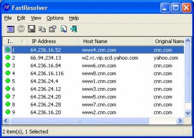 FastResolver 1.26 screenshot