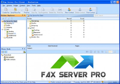 Fax Server Pro 9.9.1010 screenshot