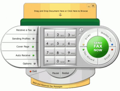 Fax4Outlook 3.00 screenshot