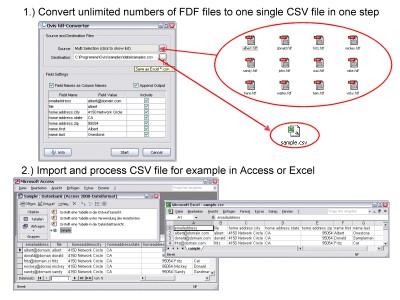 fdf-Converter 7.x screenshot