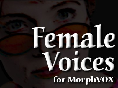 Female Voices - MorphVOX Add-on 3.3.2 screenshot