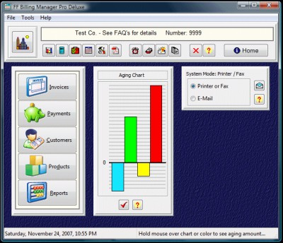 FF Billing Manager Pro Deluxe 4 screenshot