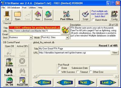 FFA Blaster 2.4.8 screenshot