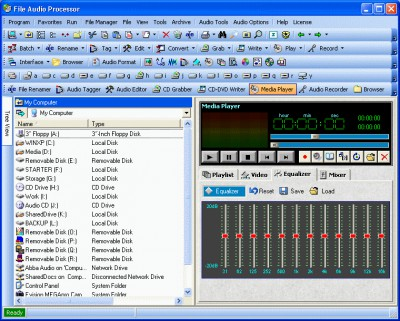 File Audio Processor 4.1 screenshot