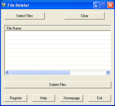 File Deleter 1.0.6.0 screenshot