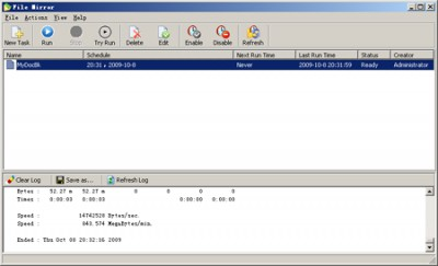 File Mirror 3.3 screenshot